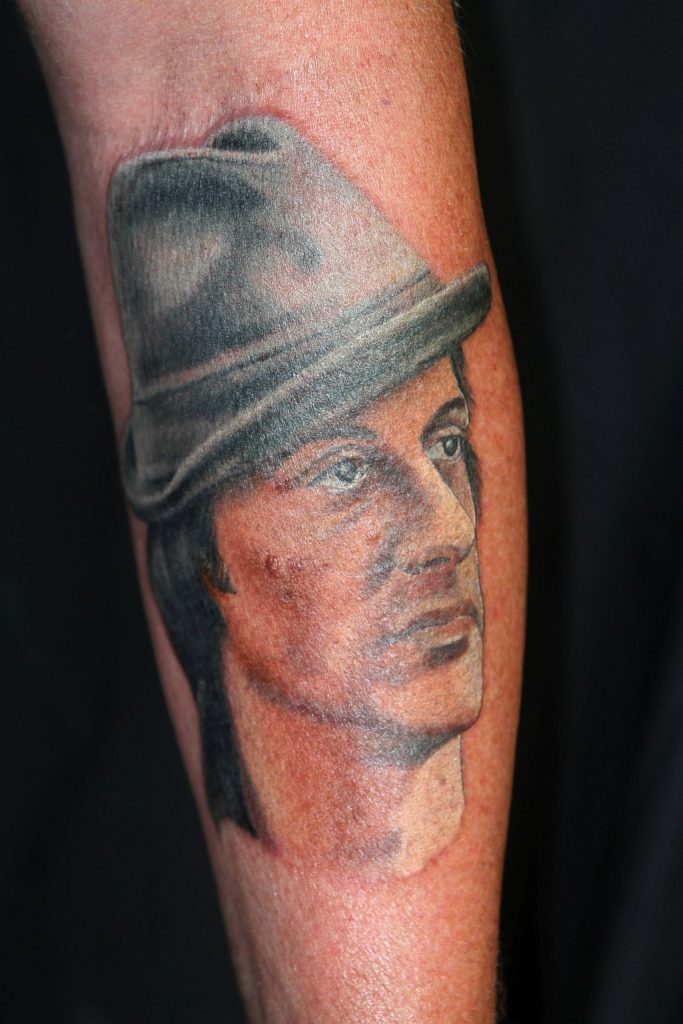 Rocky Tattoo Portrait by Thorsten Bechtluft